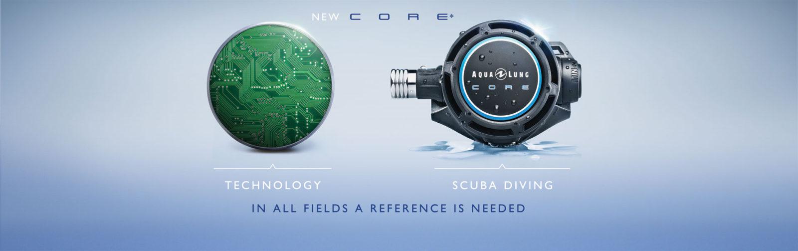 Aqualung Core regulator