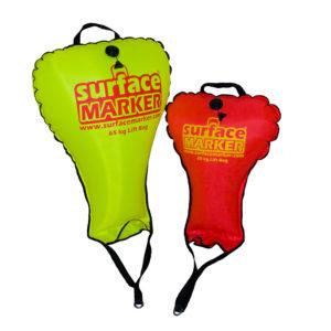 surface marker lifting bag set