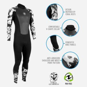 AquaLung Hydroflex Dive Men Wetsuit